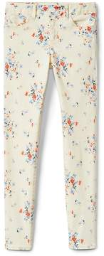 Gap Superdenim Super Skinny Jeans in Floral with Fantastiflex