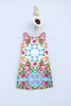 Luli & Me Tropical Blue Dress