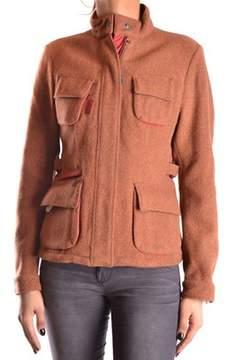 Brema Women's Brown Wool Outerwear Jacket.