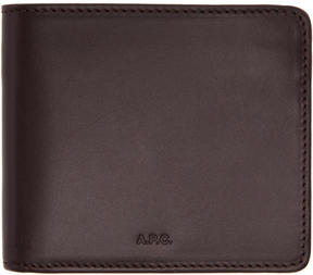 A.P.C. Brown London Wallet