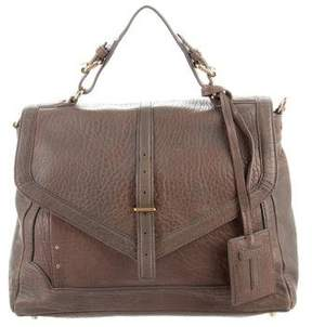 Tory Burch 797 Pebbled Leather Satchel