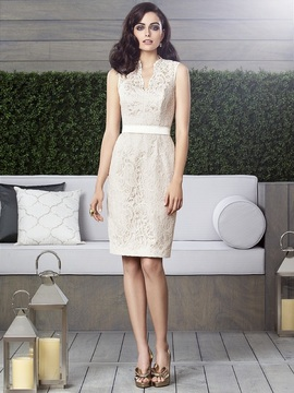 Dessy Collection 2912IV Dress In Palomino