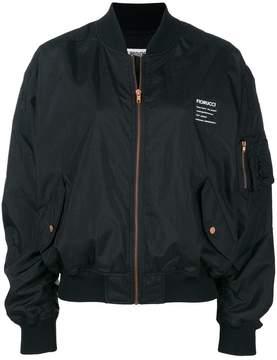 Fiorucci back print logo bomber jacket