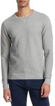 Isaia Crewneck Cotton Sweater