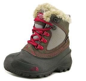 The North Face Youth Shellista Extreme Round Toe Leather Snow Boot.