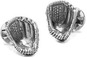 Cufflinks Inc. Cufflinks, Inc. Sterling Silver Baseball Glove Cuff Links