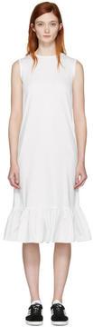 Edit White Peplum Dress