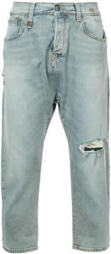 R 13 drop crotch jeans