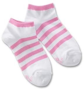 Hanes Bali Big Girls Classic 4 Pack Low Cut Liner Socks