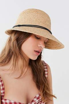 Urban Outfitters Straw Brimmed Cloche Hat