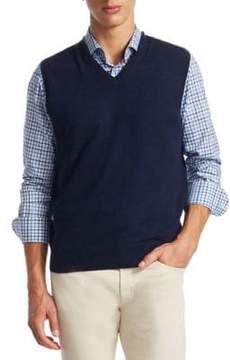 Saks Fifth Avenue COLLECTION V-Neck Cashmere Vest