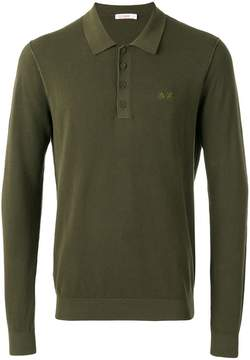 Sun 68 longsleeved polo shirt