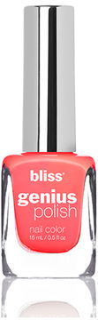 Bliss Genius Polish Nail Lacquer (Coral Me Baby)