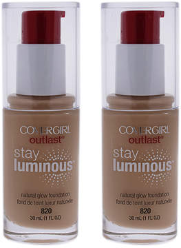 Cover Girl Creamy Natural Outlast Stay Luminous Foundation - Set of Two