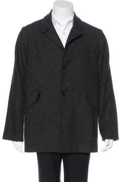 Billy Reid Wool Herringbone Coat