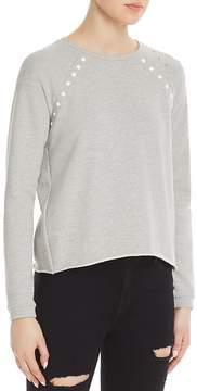 Generation Love Clay Studded Distressed Sweatshirt