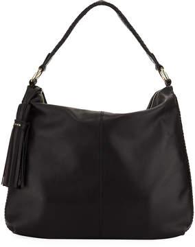 Cole Haan Adalee Leather Hobo Bag with Tassel