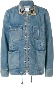 Sacai denim work jacket