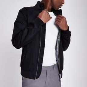 River Island Mens Black harrington jacket