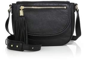 Milly Women's Astor Leather Saddle Bag