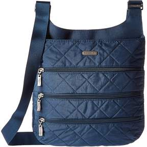 Baggallini Quilted Big Zipper Bag with RFID Bags