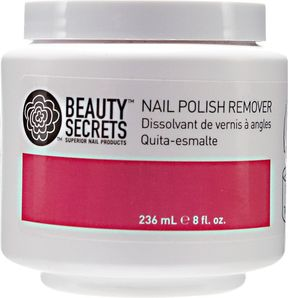 Beauty Secrets Acetone Instant Nail Polish Remover