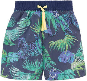 Catimini Printed swim shorts