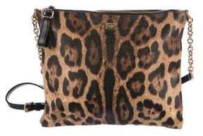 Dolce & Gabbana Leopard Crossbody Bag
