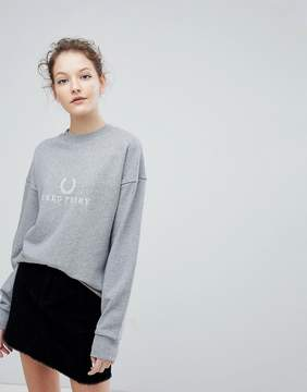 Fred Perry Embroidered Wreath Logo Sweatshirt