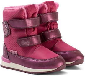Hello Kitty Lilac Boots