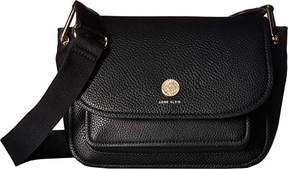 Anne Klein a Hinge Soft Flap Shoulder Bag