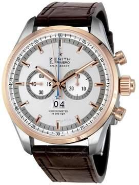 Zenith El Primero Rattrapante Chronograph Men's Watch 512050402601C713