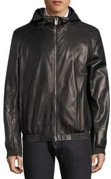 Bally Leather Blouson Jacket