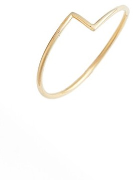 Bony Levy Women's Thin Zigzag Stacking Ring (Nordstrom Exclusive)