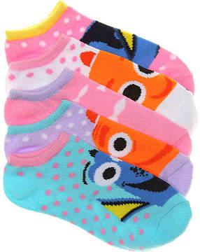 Disney Girls Finding Dory Kids Socks - 5 Pack