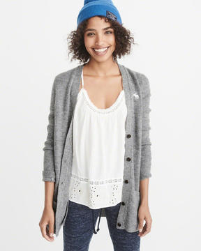 Abercrombie & Fitch Icon Shaker Cardigan