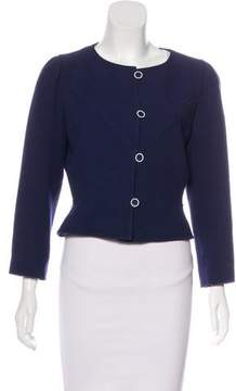 Courreges Wool Cropped Jacket