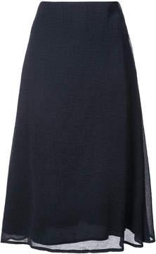 Mansur Gavriel wavy a-line skirt