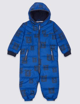 Marks and Spencer All Over Print Snowsuit with StormwearTM (3 Months - 7 Years)