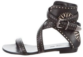 Barbara Bui Wrap-Around Gladiator Sandals