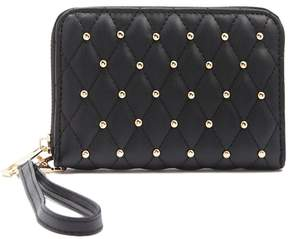 Forever 21 Studded Quilted Wallet