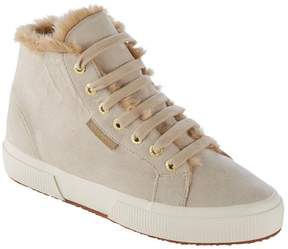 L.L. Bean L.L.Bean Superga 2795 Lined High-Top Sneakers