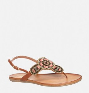Avenue Sindy Seed Bead Thong Sandal