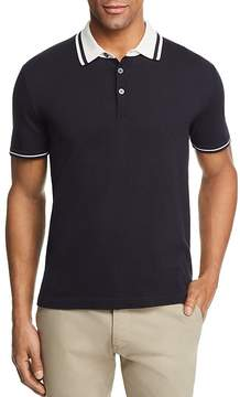 Bloomingdale's The Men's Store at Knit Tipped Regular Fit Polo Shirt - 100% Exclusive