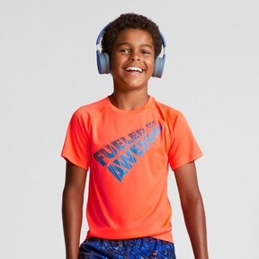 Champion Boys' Graphic Tech T-Shirt Fueled By Awesome