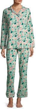 BedHead Florence Swirl Long-Sleeve Pajama Set