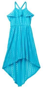 My Michelle mymichelle Ruffle Bodice High-Low Dress (Big Girls)