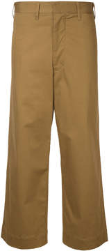 Bassike high-rise tailored trousers