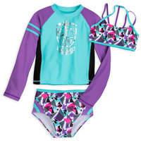 Disney Princess Swimwear Set for Girls by Our Universe