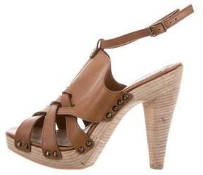 Derek Lam Multistrap Platform Sandals
